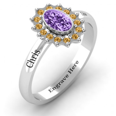 Starburst Ring - The Name Jewellery™