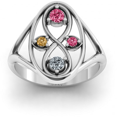 Sterling Silver  Forever Love  Ring - The Name Jewellery™