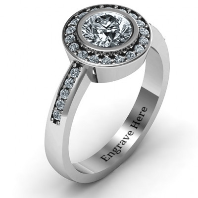 Sterling Silver Circles of Love Ring - The Name Jewellery™