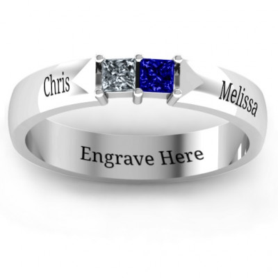 Timeless Romance Ring - The Name Jewellery™