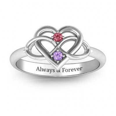 Together Forever Two-Stone Ring - The Name Jewellery™