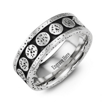 Unique Cobalt Ring - The Name Jewellery™