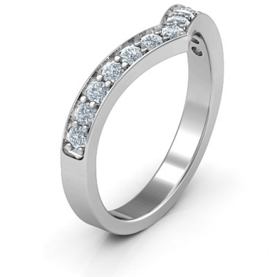 Vanessa Band Ring - The Name Jewellery™