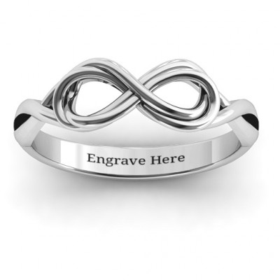 Wired for Love Infinity Ring - The Name Jewellery™