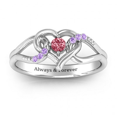 You Have My Heart Ring with Accents - The Name Jewellery™