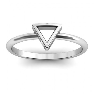 Your Best Triangle Ring - The Name Jewellery™
