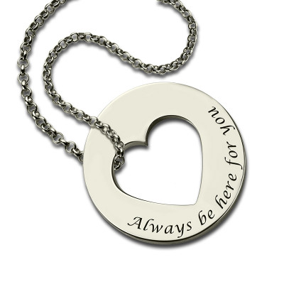 Personalised Promise Necklace For Her Sterling Silver - The Name Jewellery™