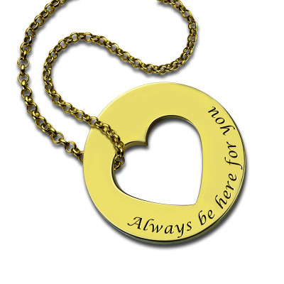 Always Be Here For You Promise Necklace - The Name Jewellery™