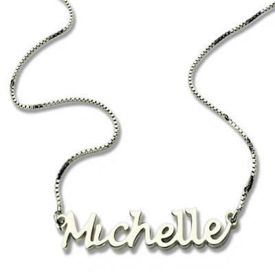 Handwriting Name Necklace Sterling Silver - The Name Jewellery™