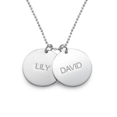 Personalised Multi Disc Necklace - The Name Jewellery™