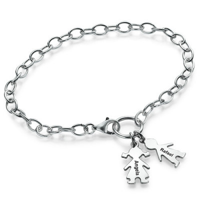 Mum Charm Bracelet/Anklet - The Name Jewellery™