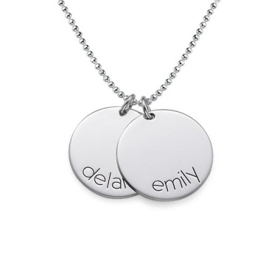 Engraved Kids Disc Necklace - The Name Jewellery™