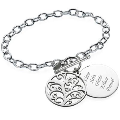 Filigree Tree of Life Bracelet/Anklet - The Name Jewellery™