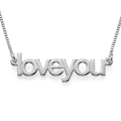 I Love You Necklace - The Name Jewellery™