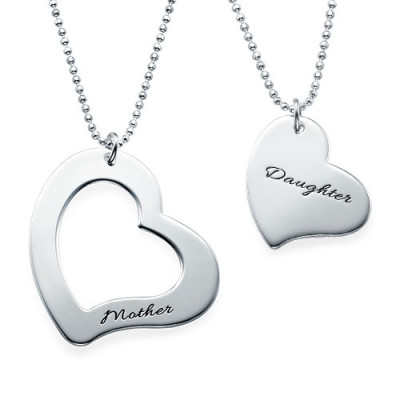 Mum is My Heart Mother Daughter Necklaces - The Name Jewellery™