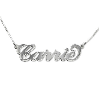 Small Name Necklace - Carrie Style - The Name Jewellery™