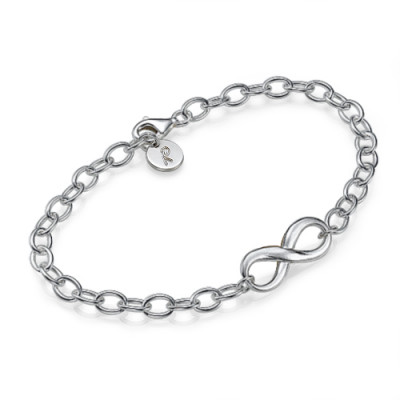 Sterling Silver Infinity Bracelet/Anklet - The Name Jewellery™