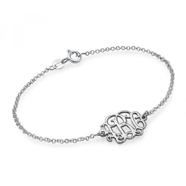 Sterling Silver Initials Bracelet /Anklet - The Name Jewellery™