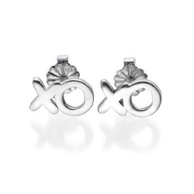 XO Silver Earrings - The Name Jewellery™