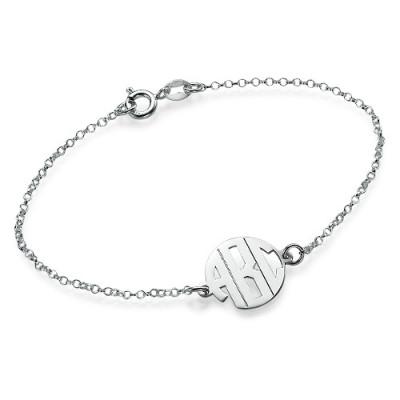 Xtra Small Block Monogram Bracelet/Anklet - The Name Jewellery™