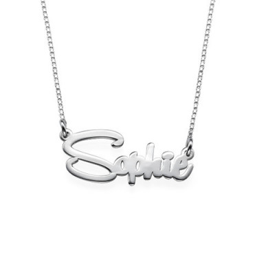 Say My Name Personalised Necklace - The Name Jewellery™