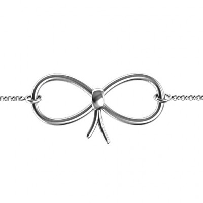 Personalised Classic Bow Bracelet - The Name Jewellery™