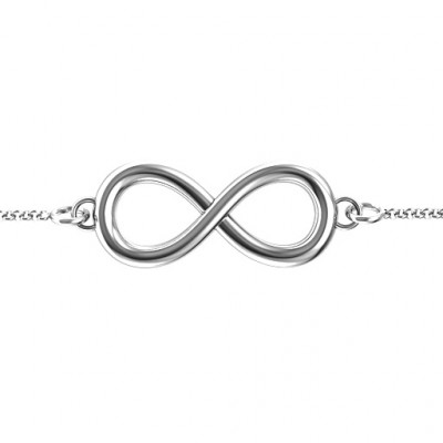 Personalised Classic Infinity Bracelet - The Name Jewellery™