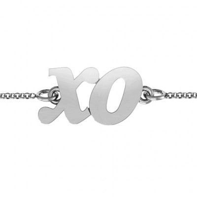 Personalised Classic Kiss and Hug Bracelet - The Name Jewellery™