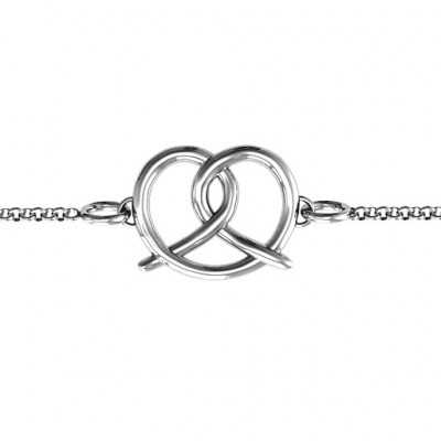 Personalised Love Knot Bracelet - The Name Jewellery™