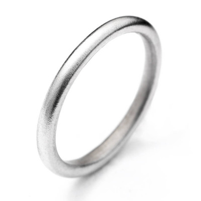 18ct White Gold Halo Ring - The Name Jewellery™