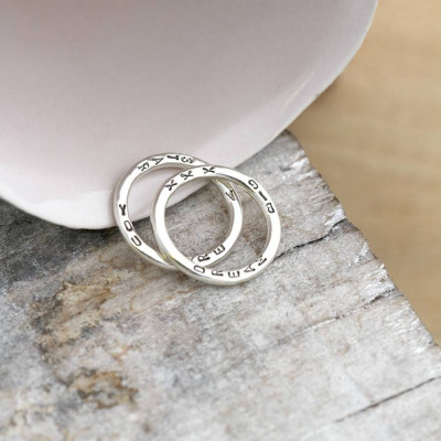 Personalised Word Ring - The Name Jewellery™