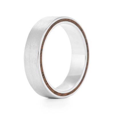 Ferrule Wood Ring - The Name Jewellery™