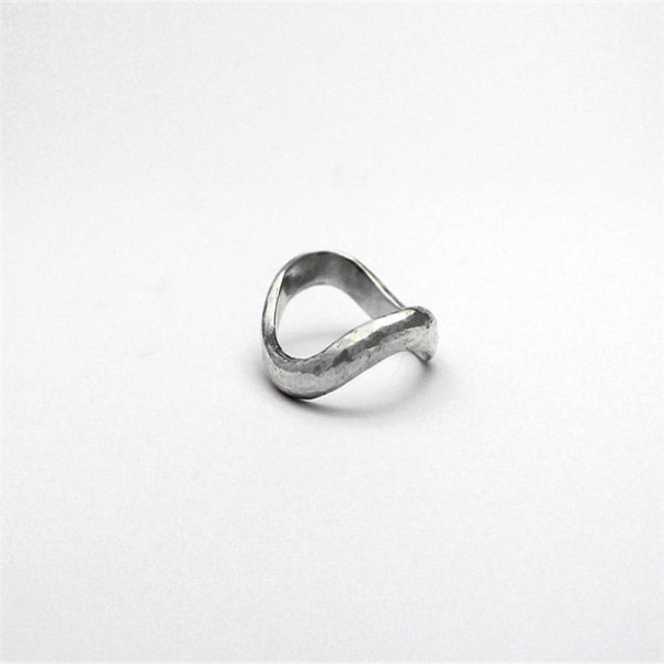 Sterling Silver Infinity Wedding Ring - The Name Jewellery™