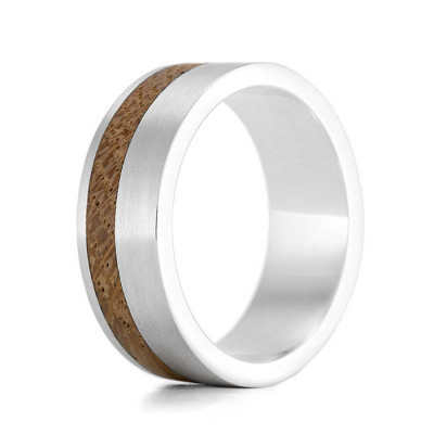Wood Ring Kindle Two - The Name Jewellery™