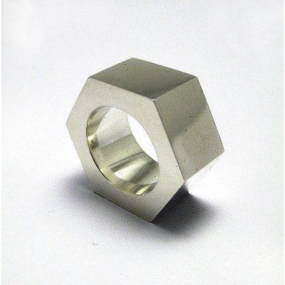 Large Nut Ring - The Name Jewellery™
