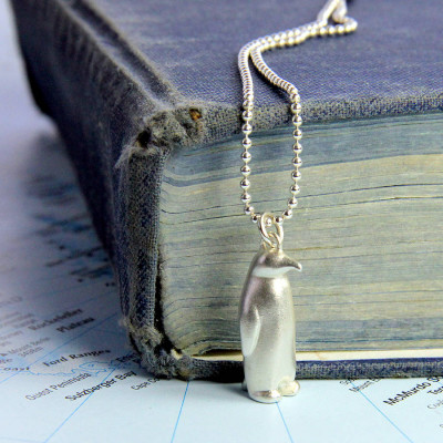 Penguin Necklace - The Name Jewellery™