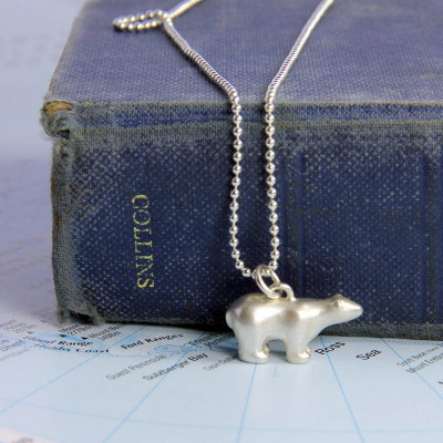 Polar Bear Necklace - The Name Jewellery™