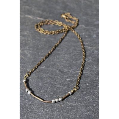 Love Morse Code Necklace - The Name Jewellery™