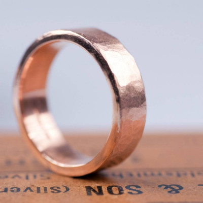 Organic 18ct Gold Mens Ring - The Name Jewellery™