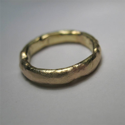 18ct Gold Organic Ring - The Name Jewellery™