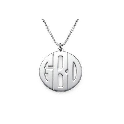 Personalised Mens Monogram Necklace - The Name Jewellery™