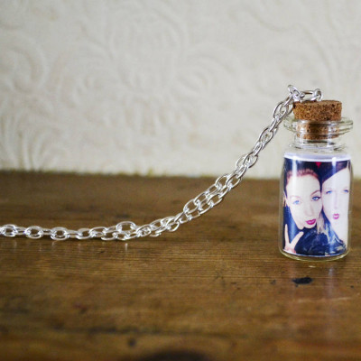 Photo Bottle Charm Necklace - The Name Jewellery™