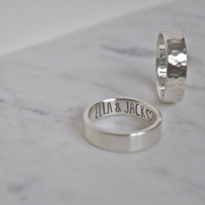 Silver Secret Message Ring - The Name Jewellery™