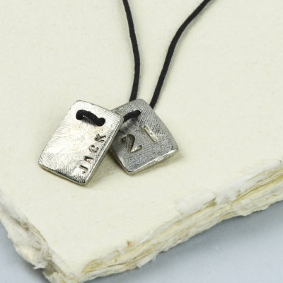 Personalised Dog Tag Necklace - The Name Jewellery™