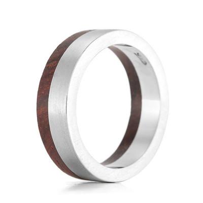 Wood Ring Rivet - The Name Jewellery™