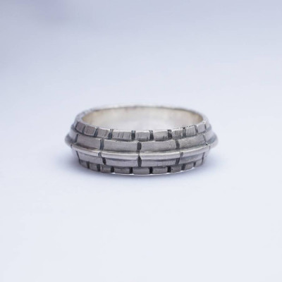 Roof Silver Ring - The Name Jewellery™