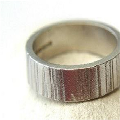 Roughed Up Ring - The Name Jewellery™