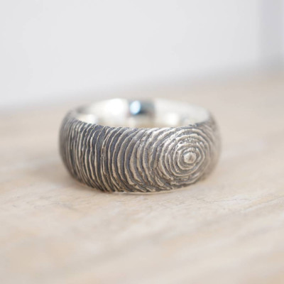 Silver Slate Ring - The Name Jewellery™