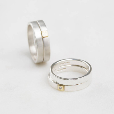 Square Puzzle Ring - The Name Jewellery™