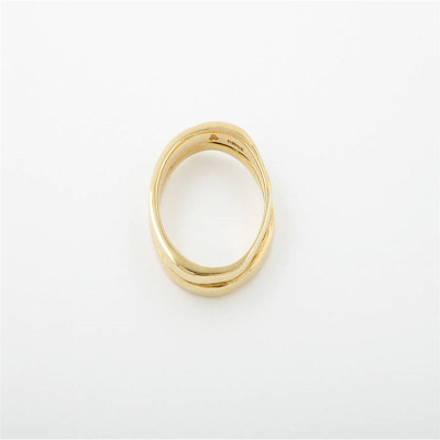 18ct Gold Wedding Ring - The Name Jewellery™